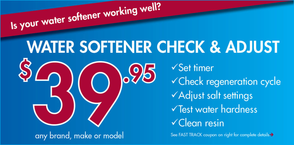 Softener Check & Adjust
